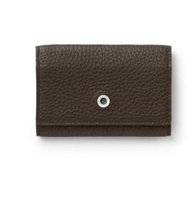 Graf-von-Faber-Castell - Business card case Cashmere, dark brown