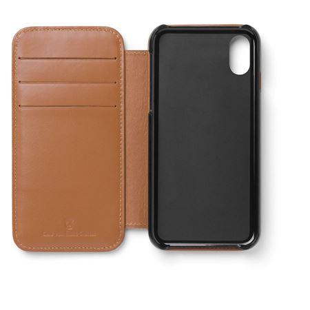 Graf-von-Faber-Castell - Smartphone cover for iPhone X Epsom, cognac