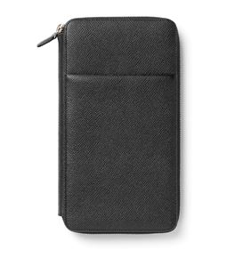 Graf-von-Faber-Castell - Travel wallet Epsom, black