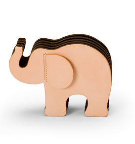 Graf-von-Faber-Castell - Pen holder Elephant Large, natural
